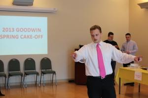 Academic Advisor Paden Livingston organized he competition.