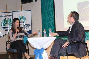 Media personality Rachel Lutzker interviews Chef and Restaurateur Billy Grant, keynote honoree of the second installment of Vital Voices in Entrepreneurship.