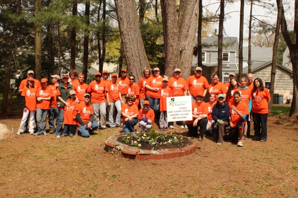Goodwin's 2013 Rebuilding Together Team.
