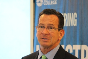 Connecticut Governor Dannel Malloy congratulated Goodwin and its partners on the Manufacturing Initiative.