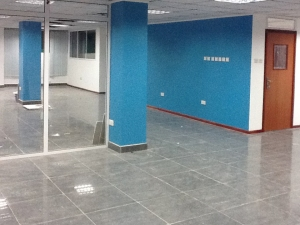 The Student Lounge in the newly renovated Goodwin College Ghana.