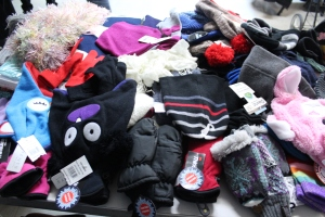 Cold winter nights will be a little warmer thanks to those who donated hats, gloves, scarves, and mittens.