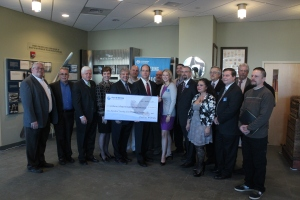 Goodwin College joined with Pratt & Whitney and the students who completed the CPT program in celebration of milestones.