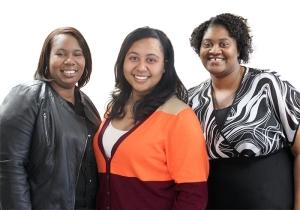 Charlene, Briana, and Tarisha